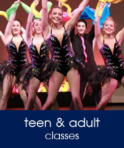 teen and adult classes